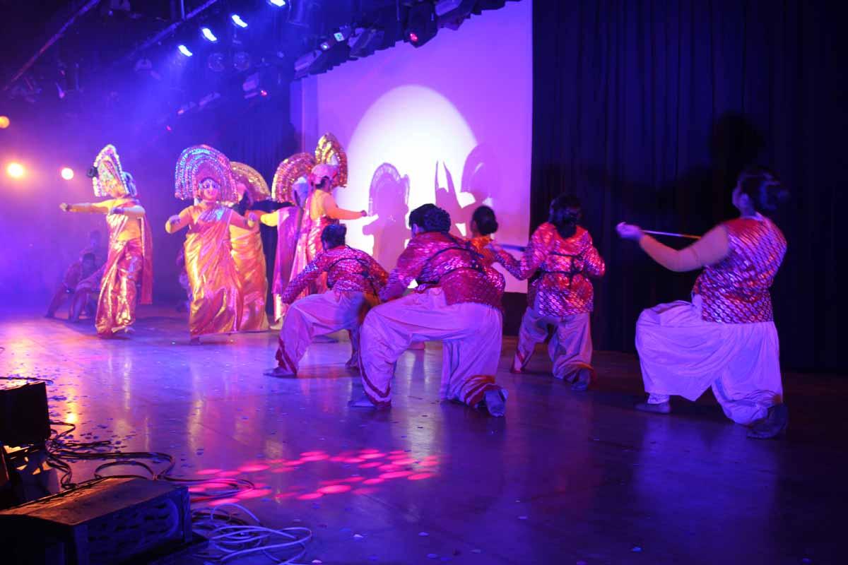 Chhau dance by SJC students