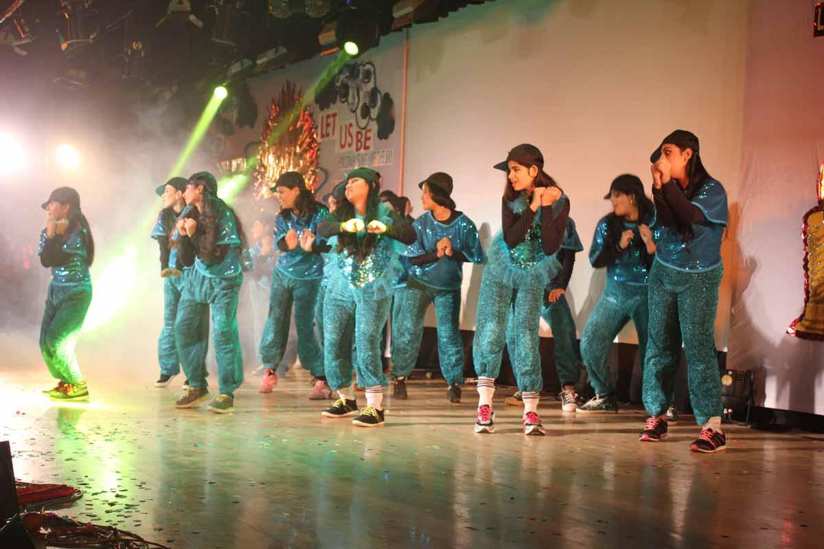 Western dance by SJC students