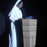 Sister Anna Maria addressing the guests